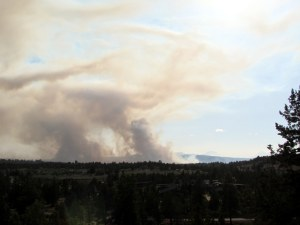 Two Bulls Fire From Bend